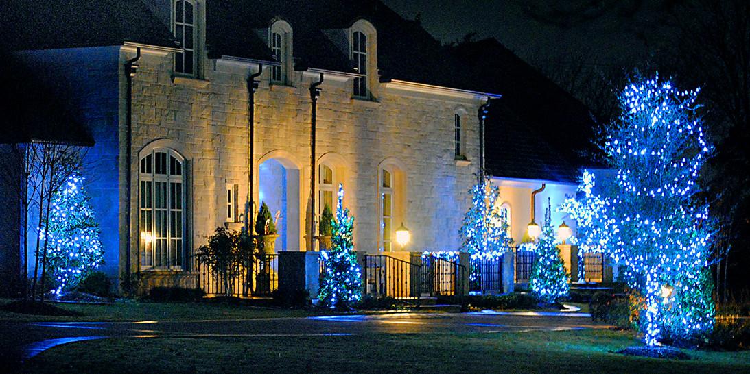 Nichols Hills Home Lights by Forrester