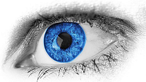 ojos azules descendientes