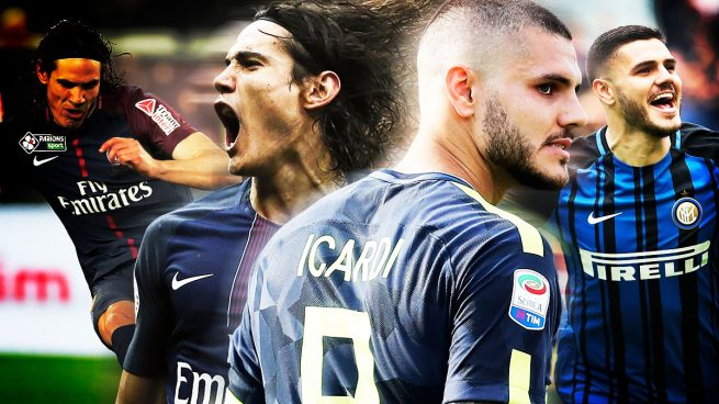 Image result for icardi cavani