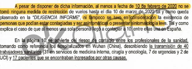 """Nuevo informe de la Guardia Civil a la juez del 8-M: Simón tenía «conocimiento de la gravedad el 10 de febrero"""""""