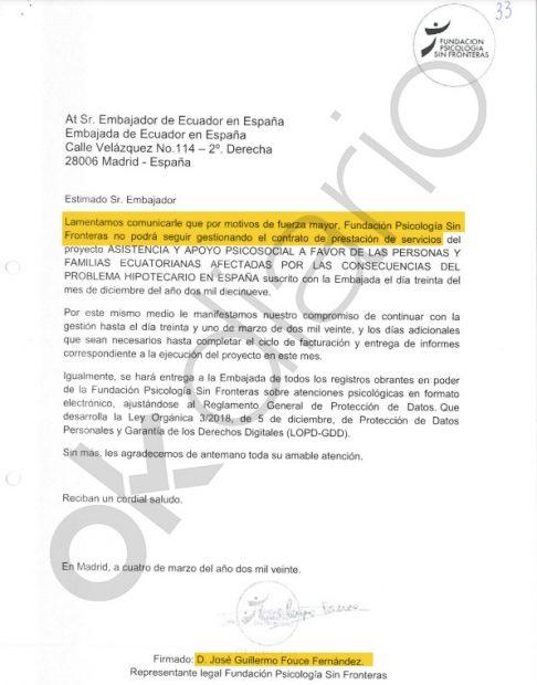 PSOE Rafael Correa