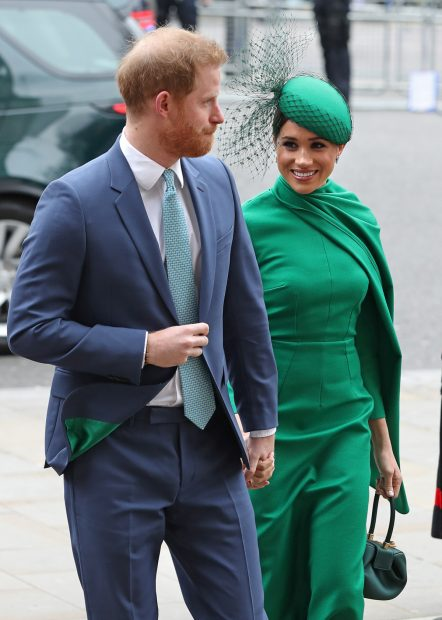 Meghan and Harry in a file image./Gtres