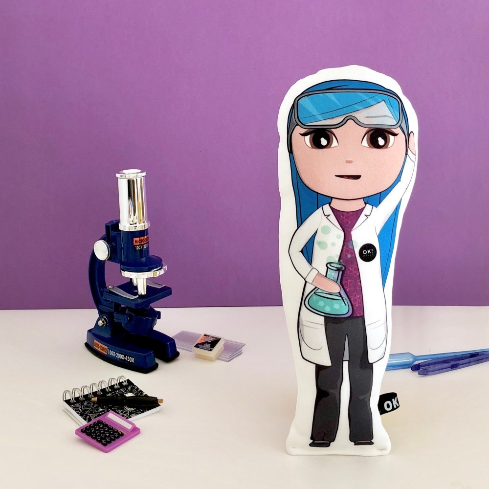 Bex the Biochemist OK!Doll STEM toy