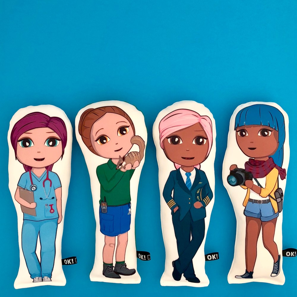 STEM based career dolls