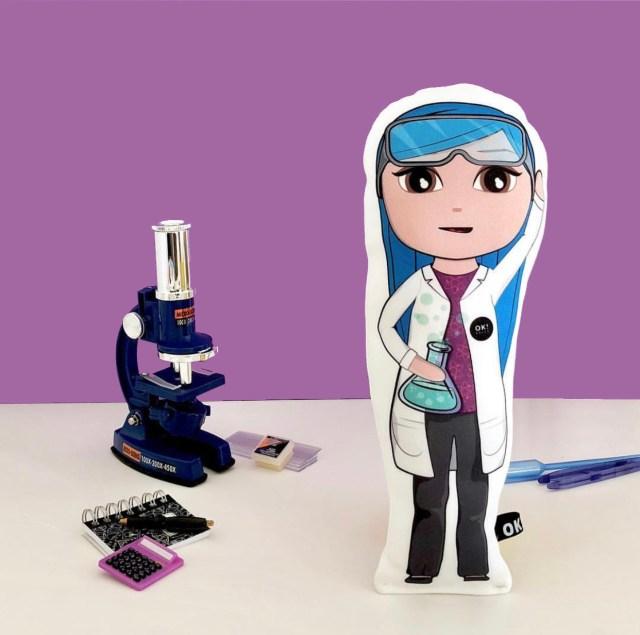 OKDOLL Bex Biochemist soft doll