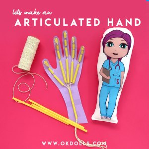 easy at home science and art BIOLOGY activity inspired by our OK!Dolls