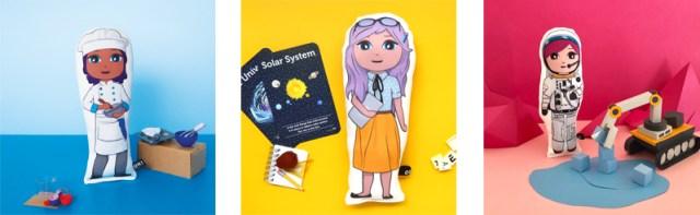 career based soft plush dolls by OK!Dolls