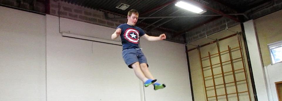 Image:L Kiah trampolining - SNAP
