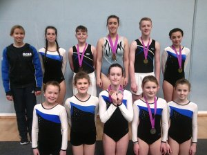 A great weekend for Okehampton Gym, Trampoline & DMT Club!