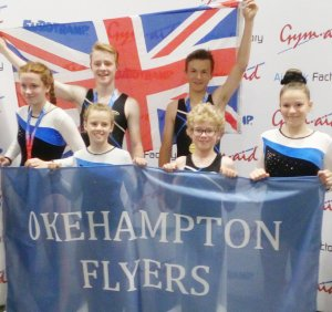 National golds for Okehampton Flyers