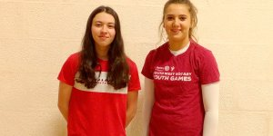 Teegan Smith and Niamh Grimshaw