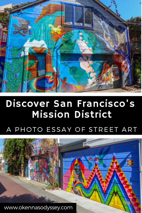 While exploring San Francisco, take time to head over to the Mission neighborhood and discover the incredible variety of street art and murals. Here is a photo essay of our favorites.