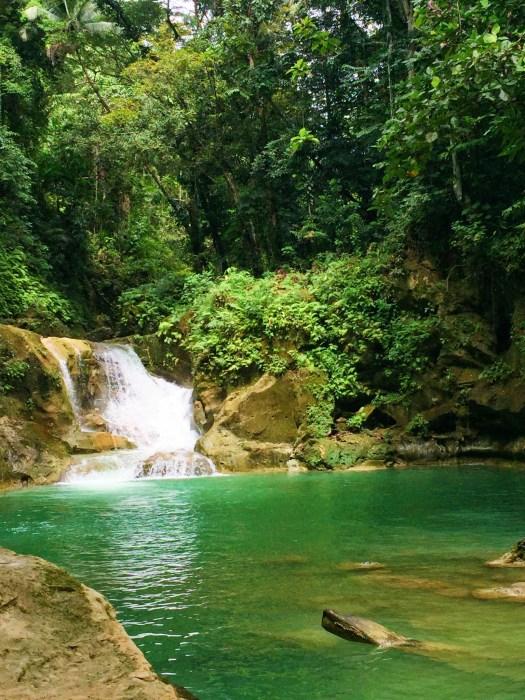 View of Mag Aso falls.