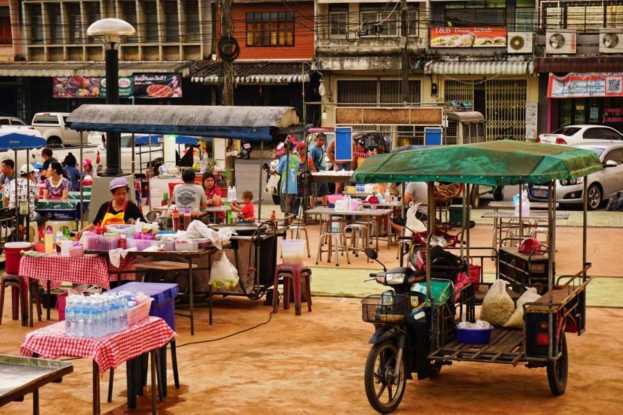 Krabi Town night market.