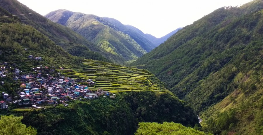 View of Bay Yo rice terraces