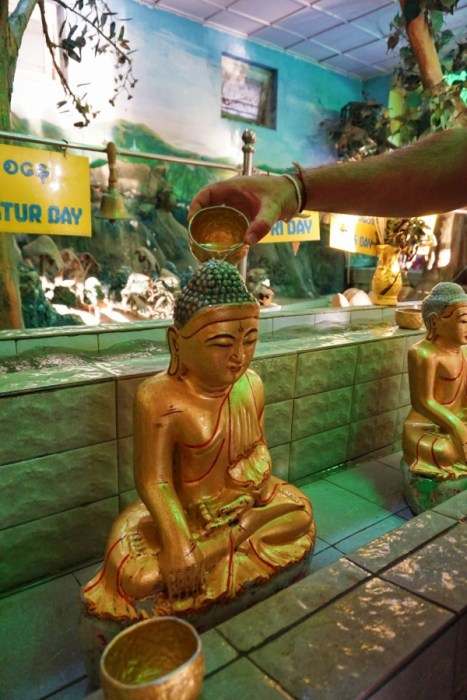 blessing, local traditions, Buddhism, rituals, Mandalay, Myanmar