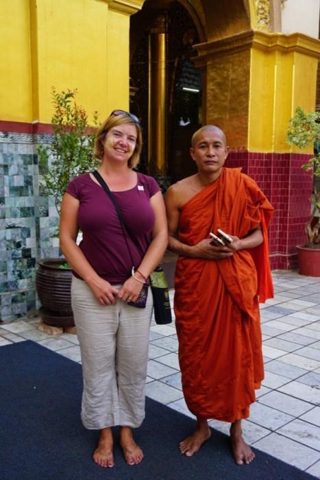 Mahamuni Temple, Mandalay, Myanmar, pilgrimage site, monks