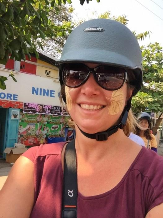 Mandalay, Myanmar, motorbike tour, locals, tour guides