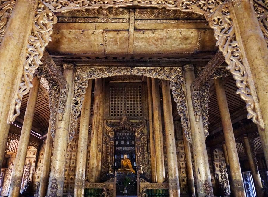 Buddhism, Shwenandaw Monastery, Mandalay, Myanmar, religion