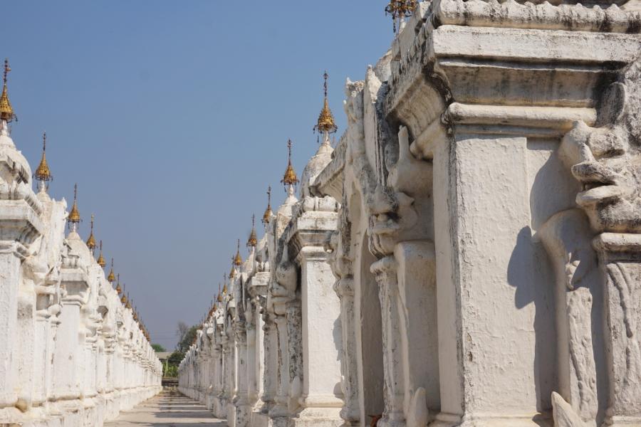 Kuthodaw Pagoda, Mandalay, Myanmar, Buddhism, history