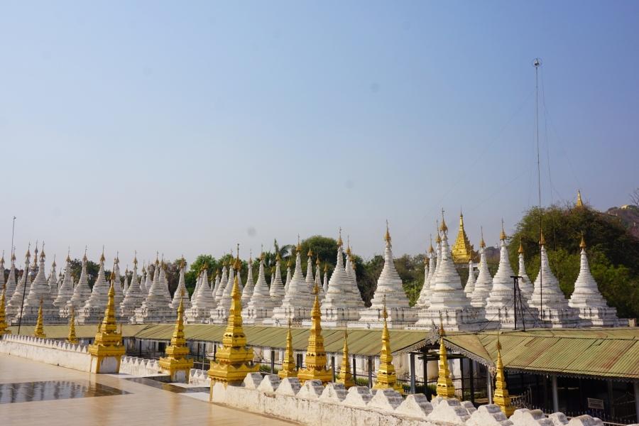Sandar Mu Ni Pagoda, Mandalay, Myanmar, motorbike tour, Buddhism