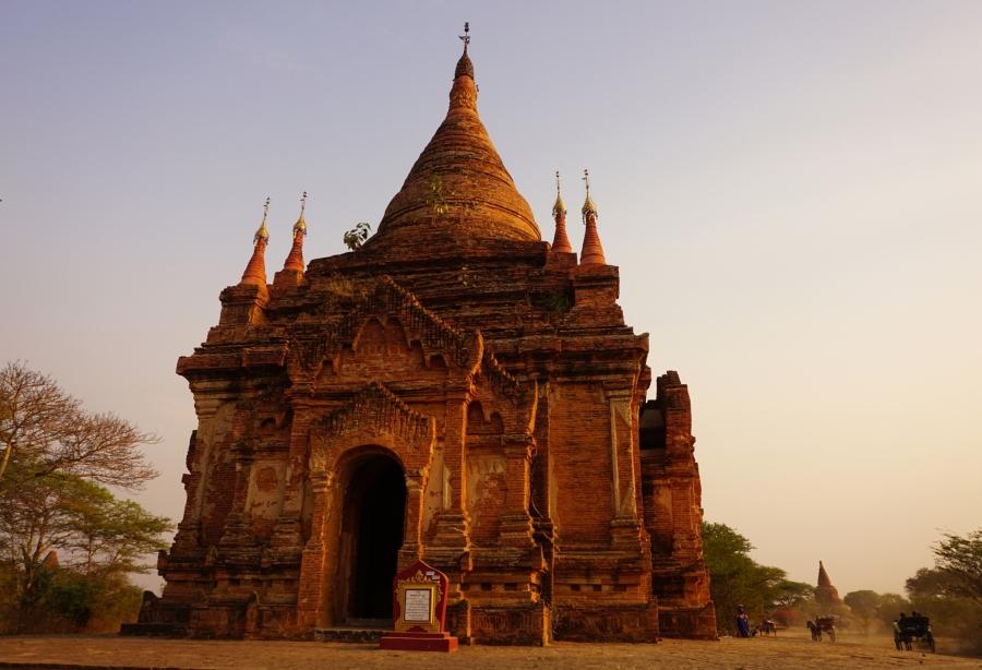 Temple in Bagan, Myanmar, ruins, temples, Southeast Asia