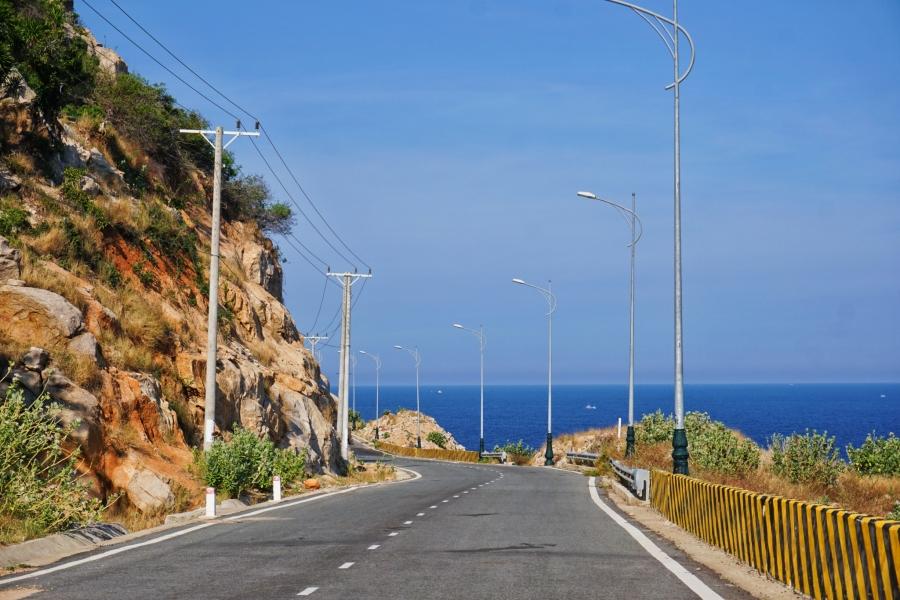 coastal road, seaside views, paradise, landscape, Vietnam