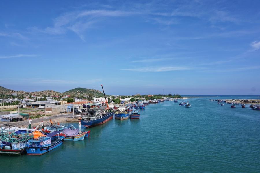 Fishing Village, beach, paradise, local port, sea