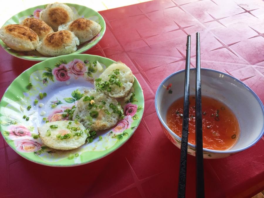 Quail egg breakfast, local eats, paradise, Vietnam