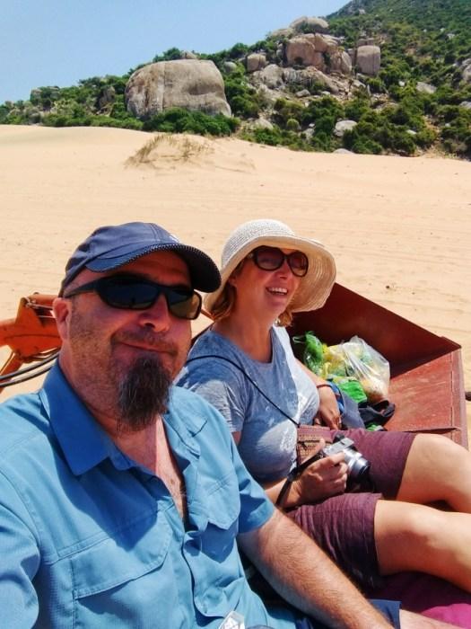 Tractor selfie, beach, paradise, hidden gem, private beach