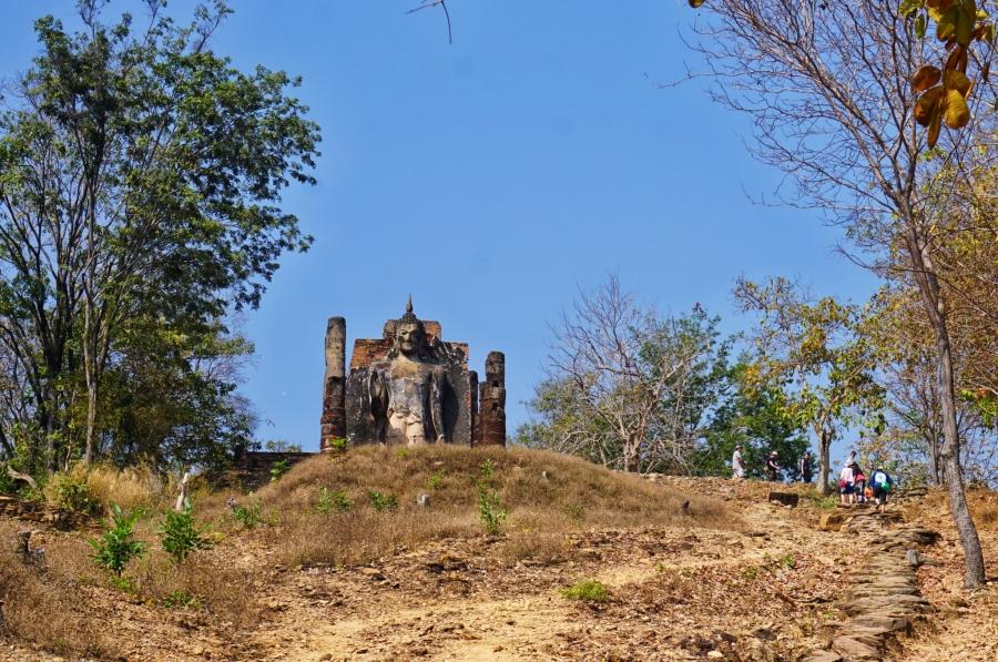 Wat Saphan Hin, Sukhothai, Thailand, ancient, ruins, Southeast Asia, temples