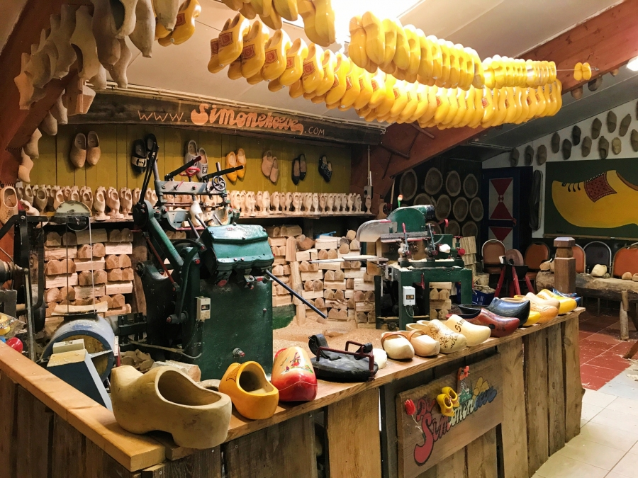 Simonehoeve Cheese Farm and Wooden Clog Factory, Netherlands