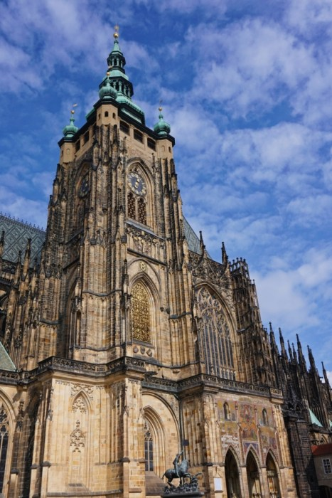 St. Vitus Cathedral, Prague is full of stunning architecture and history.