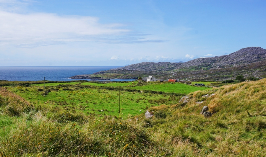 Scenic views and seascapes galore on the Beara Peninsula, Ireland.