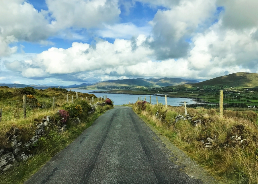 Beara Penisula on the Wild Atlantic Way with breathtaking seascapes.