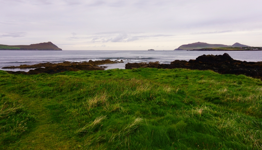 Wine Strand beach on the Northern part of Dingle Peninsula was another awesome campervan spot for the night.