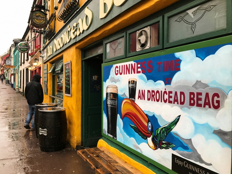 Dingle Town is full of traditional Irish pubs that have great local music sessions every night.