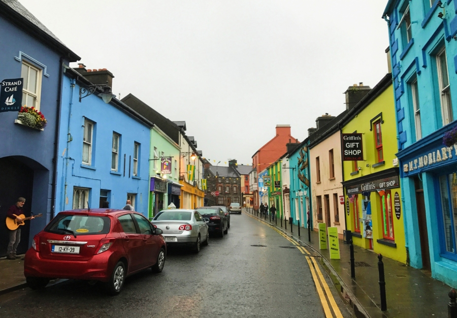 Dingle Town on the Wild Atlantic Way