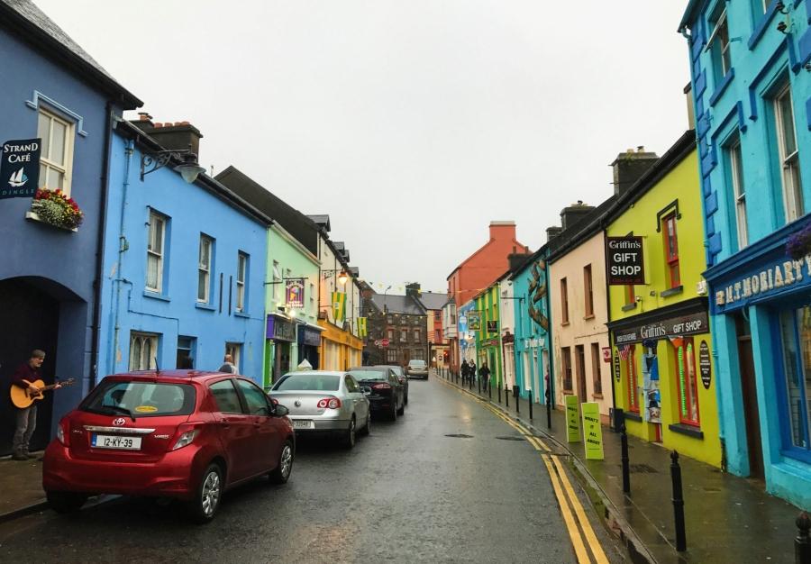 Dingle Town on the Wild Atlantic Way