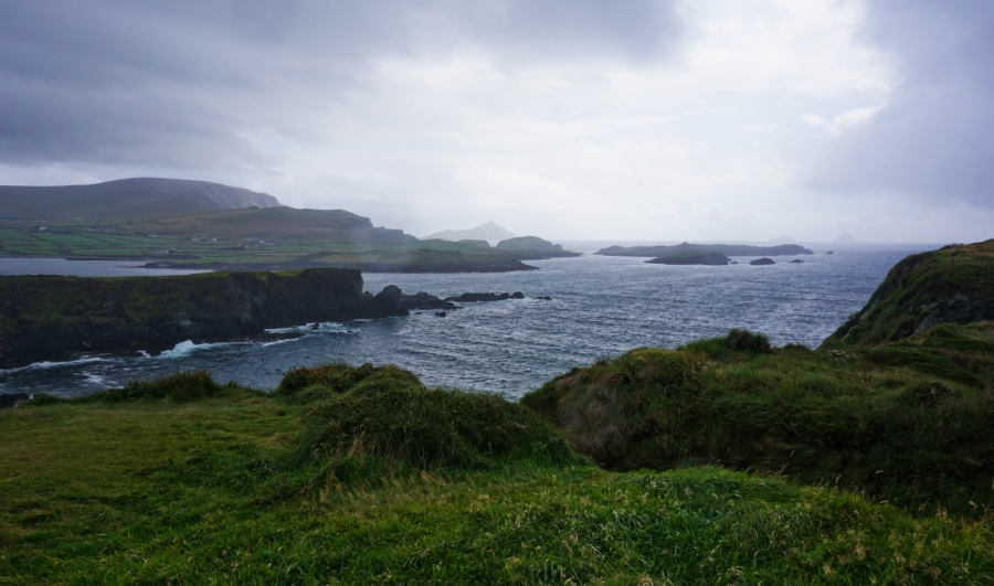 Views of the Kerry Cliffs from Valentia Island at the southern tip of the Ring of Kerry.
