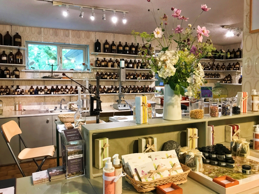 Burren Perfumery, an off the beaten path stop where they make perfume and body products out of local herbs and flowers.