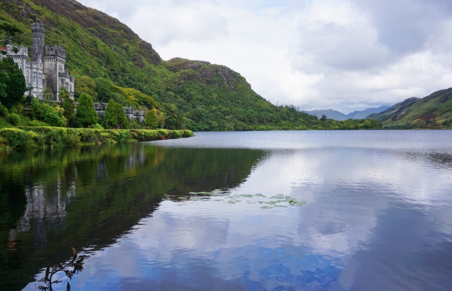 Kylemore Abbey on the Wild Atlantic Way in Ireland is a must see spot.