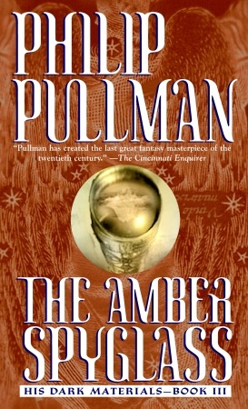 the amber glass - His dark materials : The amber spyglass, Book.3