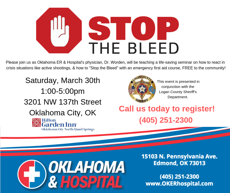 Please join us for our Stop the Bleed Event. March is _Stop the Bleed Month._ Our very own Dr. Worden will be teaching (1)