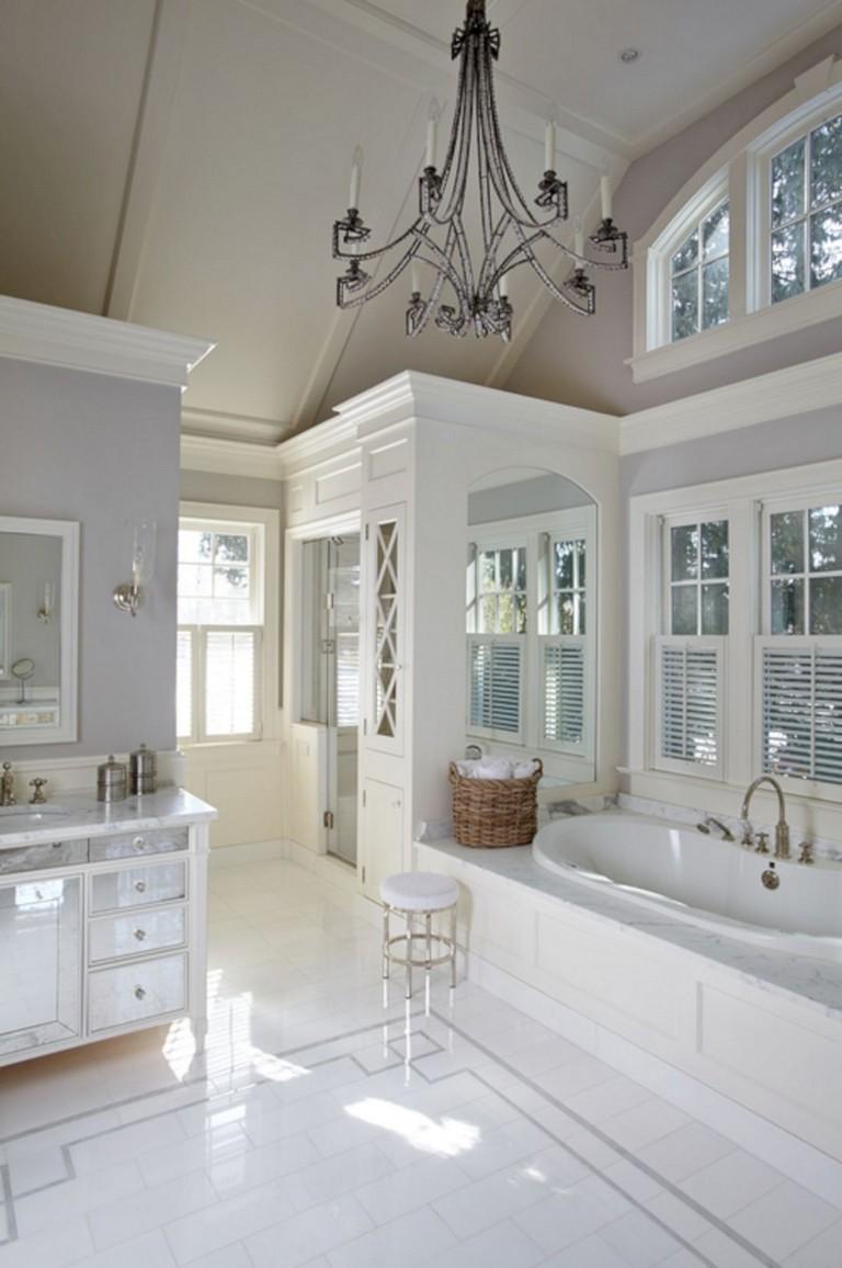 86+ Lovely Modern Vintage Bathroom Decor Ideas - Page 3 of 88