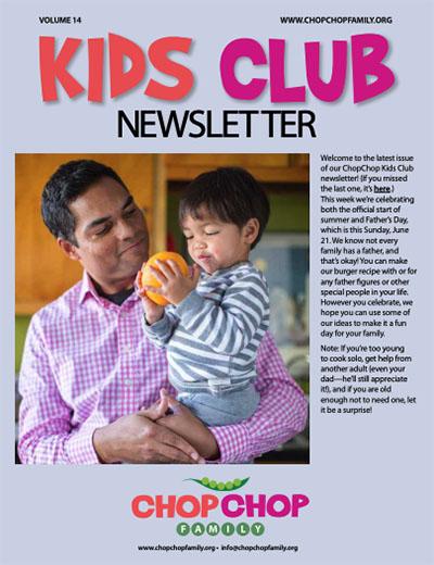 Chop Chop Newsletter – Week 14
