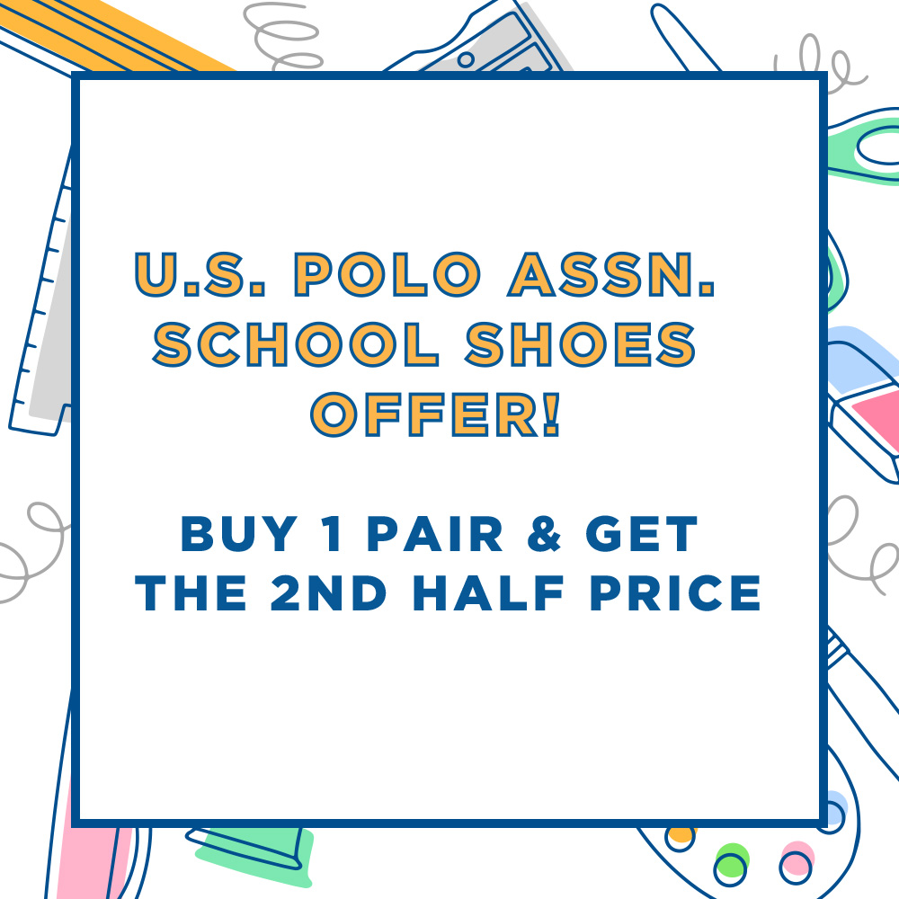 SCHOOL SHOES OFFER