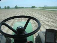 Auto steer technology eliminates the need for me to physically use the steering wheel.
