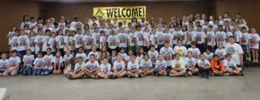 All the participants of the 2013 Farm Safety Day.