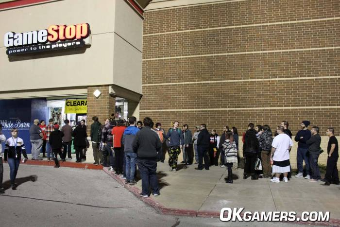 Owasso GameStop Switch Launch